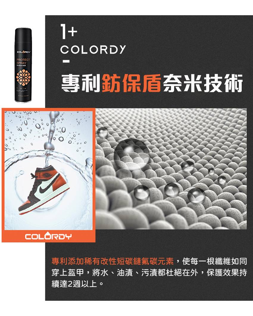 【Colordy】奈米防水噴霧